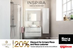 Roca Thailand 20% Discount